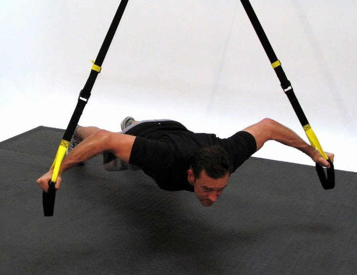 TRX Training Suspension, une activité fitness tonifiante